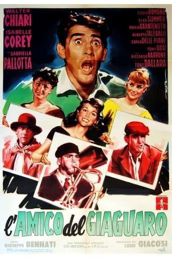 Poster of L'amico del giaguaro