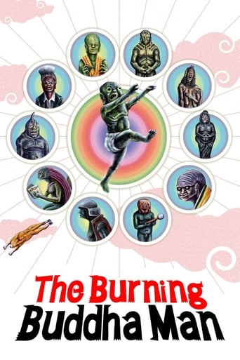 Poster of The Burning Buddha Man