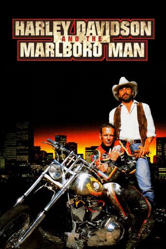 Poster of Harley Davidson and the Marlboro Man
