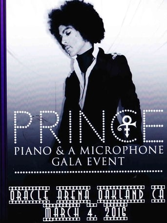 Poster of Prince: Piano and a Microphone Tour