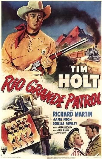 Poster of Rio Grande Patrol