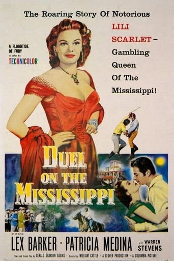 Poster of Duel on the Mississippi
