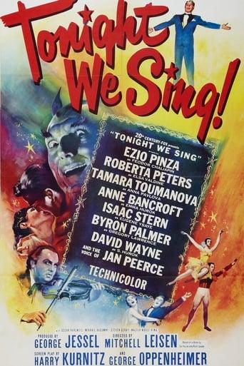 Poster of Tonight We Sing