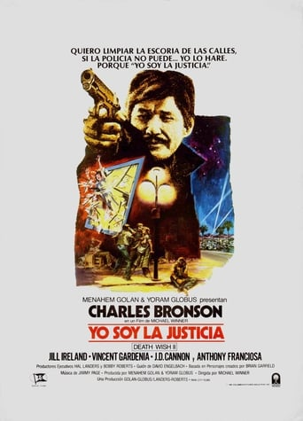 Poster of Yo soy la justicia (Death Wish II)