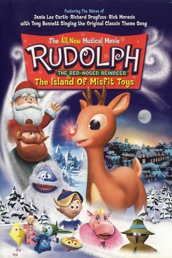 Poster of Rudolph, the Red-Nosed Reindeer & the Island of Misfit Toys