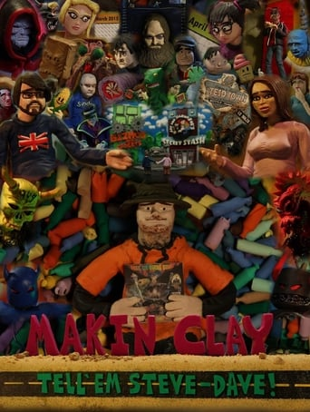 Poster of Tell 'em Steve-Dave: Makin' Clay