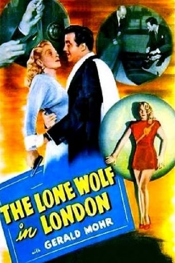 Poster of The Lone Wolf in London