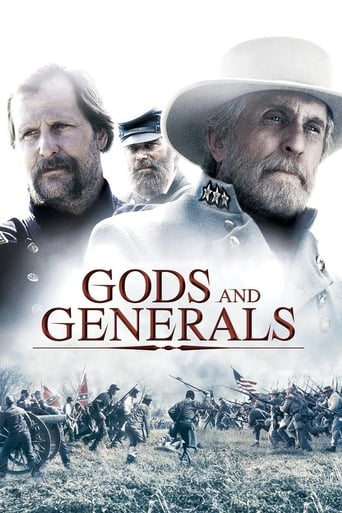 Poster of Gods and Generals