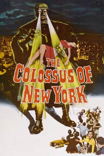 Poster of The Colossus of New York