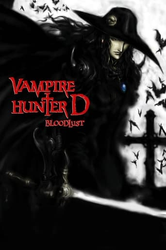 Poster of Vampire Hunter D: Bloodlust