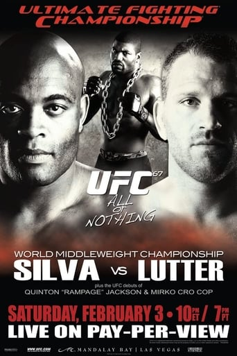 Poster of UFC 67: All or Nothing