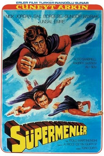 Poster of 3 Supermen Against Godfather
