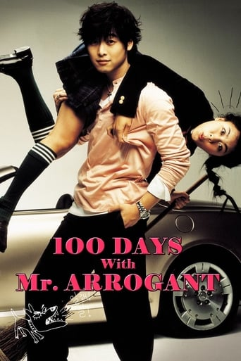 Poster of 100 Days with Mr. Arrogant