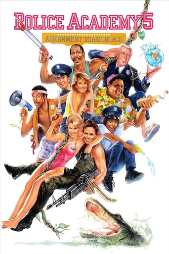 Poster of Police Academy 5: Assignment Miami Beach