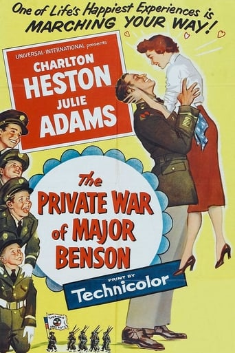 The Private War of Major Benson poster