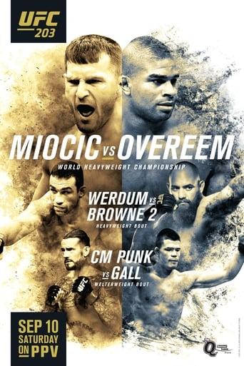 Poster of UFC 203: Miocic vs. Overeem