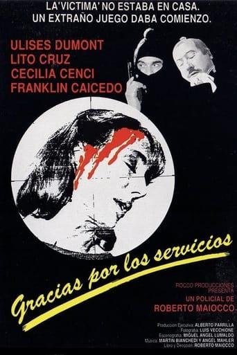 Poster of Gracias por los servicios