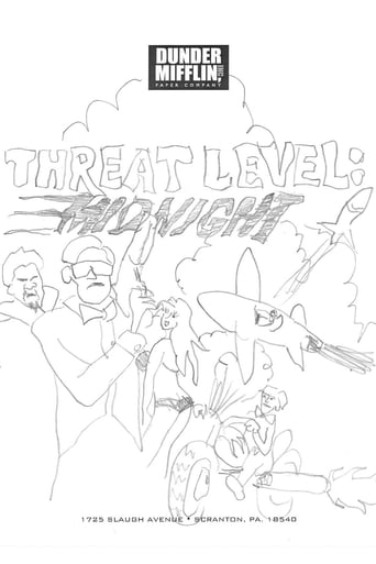 Poster of Threat Level Midnight: The Movie (A Michael Scott Joint)