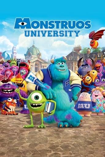Poster of Monsters University
