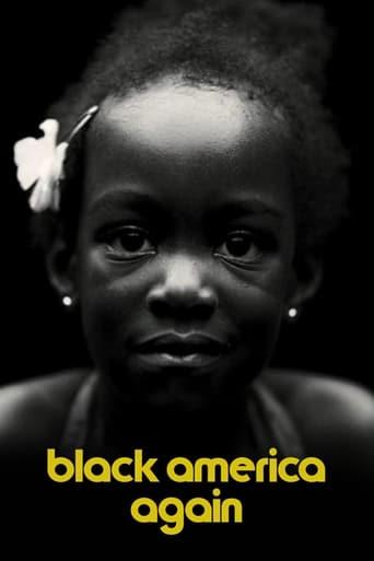 Black America Again poster