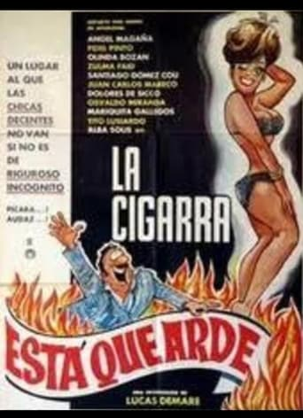 Poster of La cigarra está que arde