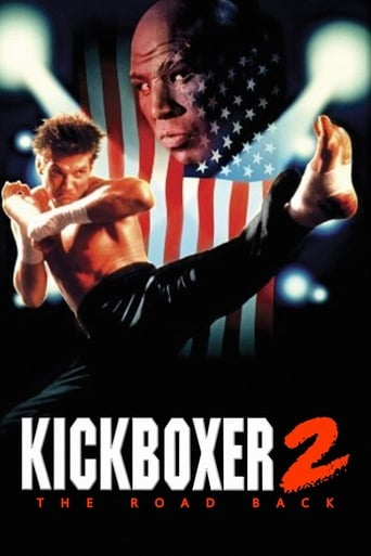 Poster of Kickboxer 2: The Road Back
