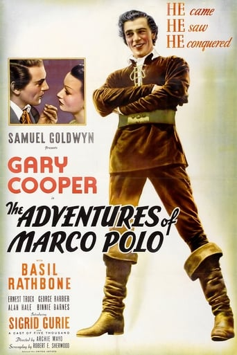 Poster of The Adventures of Marco Polo