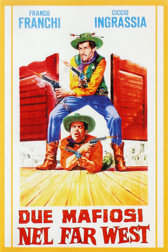 Poster of Two Gangsters in the Wild West