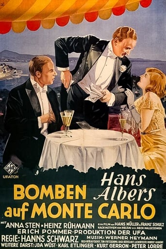 Poster of Bombs Over Monte Carlo