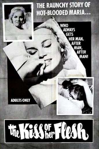 Poster of The Kiss of Her Flesh