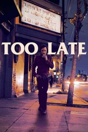 Poster of Too Late