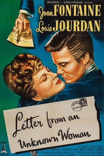 Poster of Letter from an Unknown Woman