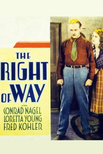 Poster of The Right of Way