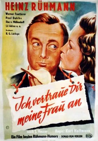 Poster of Ich vertraue Dir meine Frau an