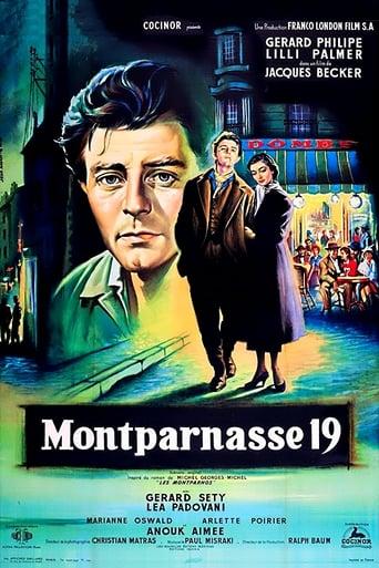 Poster of The Lovers of Montparnasse
