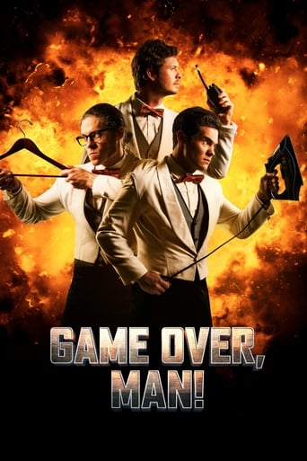 Filmplakat von Game Over, Man!