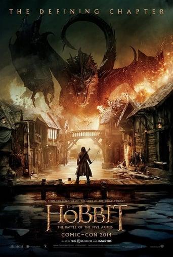 Hobbit: Femhäraslaget  - filmaffisch