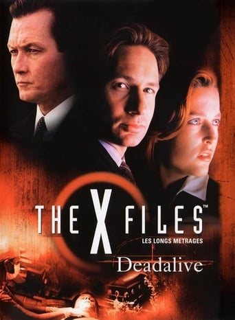 Poster of The X-Files: Deadalive