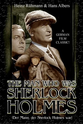 Poster of The Man Who Was Sherlock Holmes