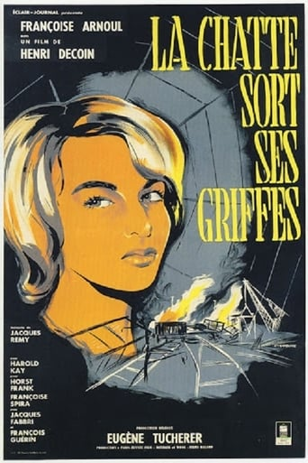 Poster of The Cat Shows Her Claws