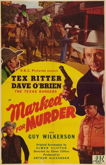 Poster of Marked for Murder