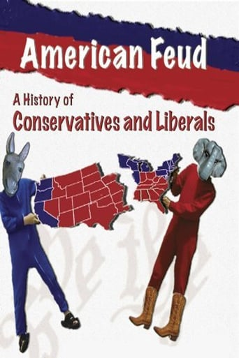 Poster of American Feud: A History of Conservatives and Liberals
