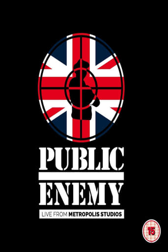 Poster of Public Enemy - Live From  Metropolis Studios