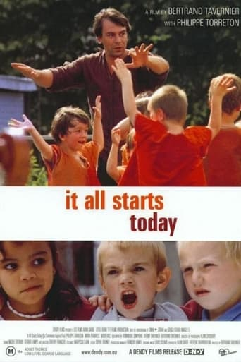 Poster of It All Starts Today