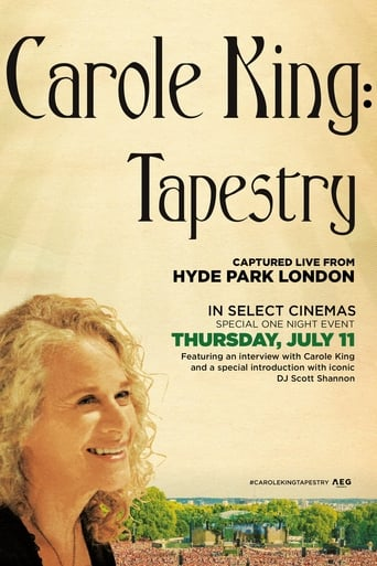Poster of Carole King - Tapestry: Live in Hyde Park