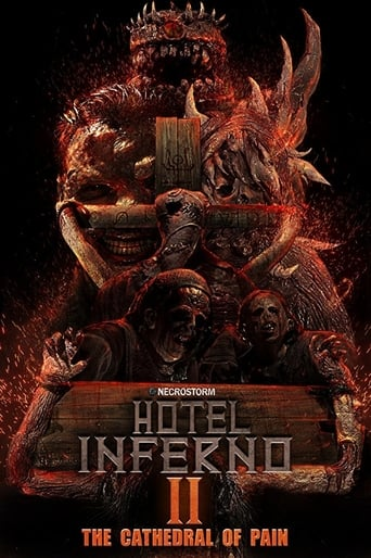 Poster of Hotel Inferno 2: The Cathedral of Pain