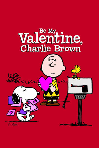Poster of Be My Valentine, Charlie Brown