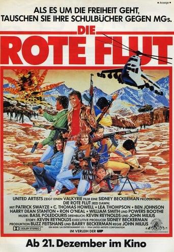 Filmplakat von Die rote Flut
