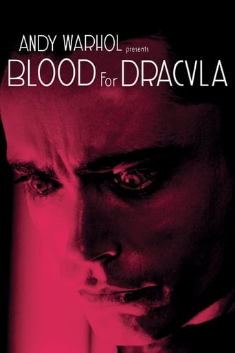 Poster of Blood for Dracula
