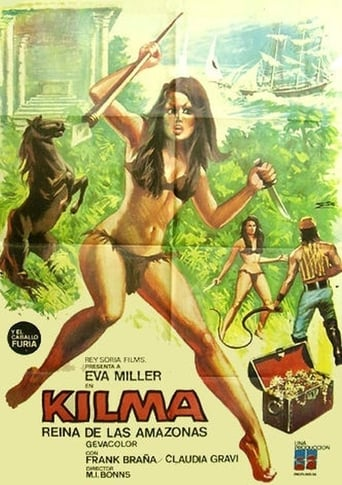 Poster of Kilma, Queen of the Amazons